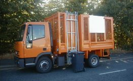 Refuse Tipping Body with Bin Lift