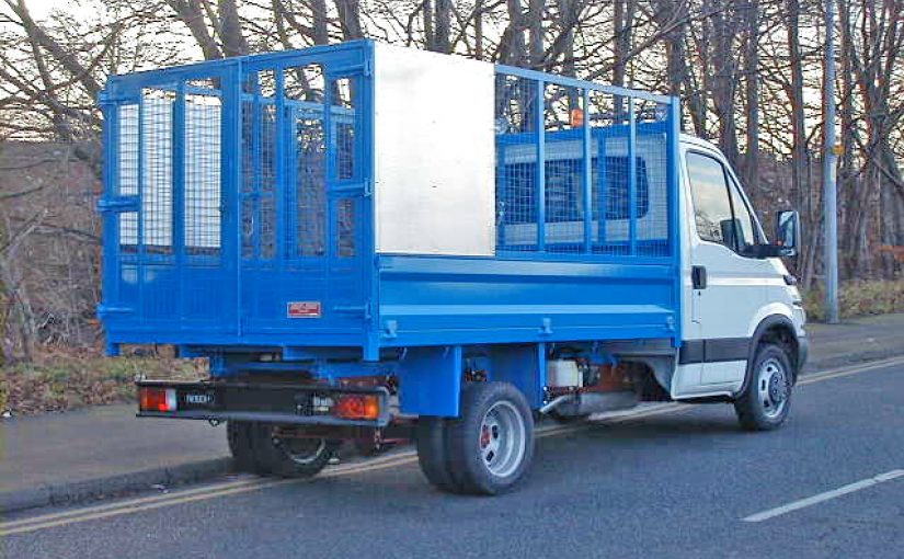 3.5 Tonne Caged Tipping Body