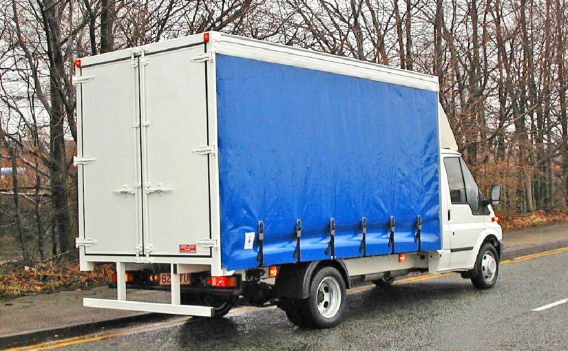 3.5 Tonne Curtain Side Body