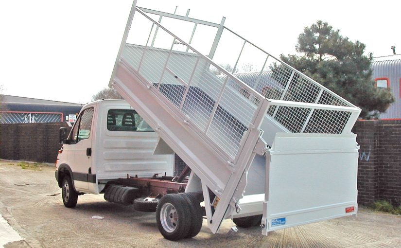 5 Tonne Fixed Cage Tipping Body