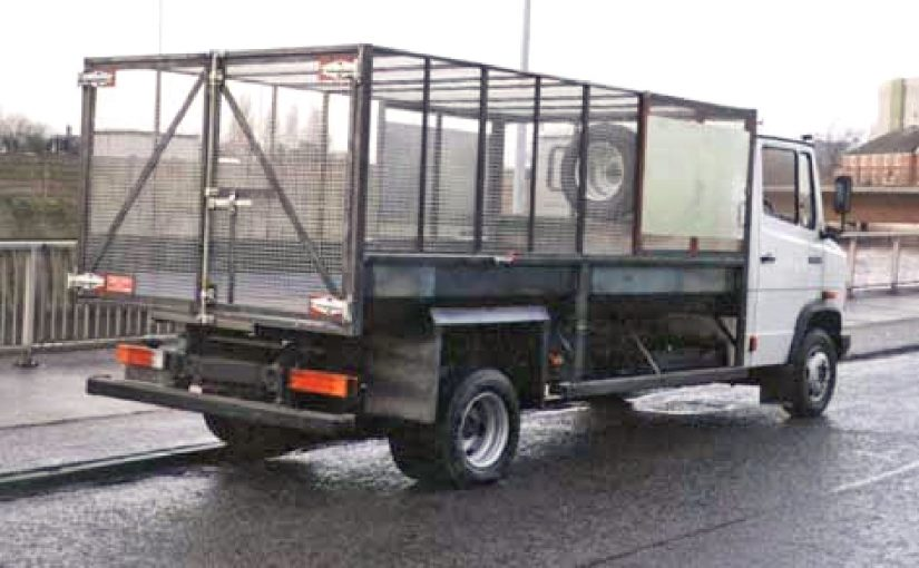 6.2 Tonne Fixed Caged Tipping Body