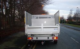 Peugeot Steel Tipper with Internal Toolbox & mesh sides