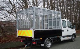 Fully galvanised cage