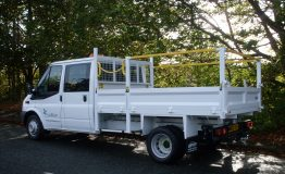 3.5t Tipper with Working at Height rails