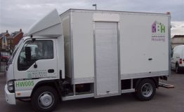 GRP Box body