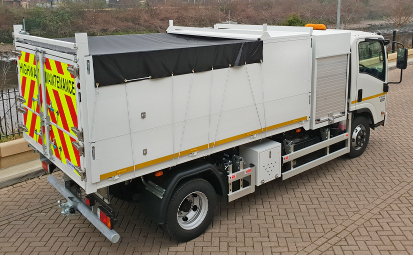 High Specification Arboricultural Tipper