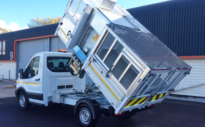 Waste Collection Tipping Body