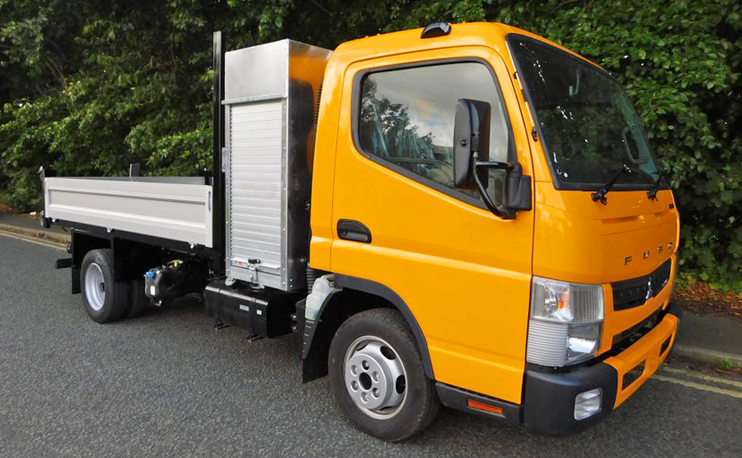 3.5t Fuso Canter Tipper