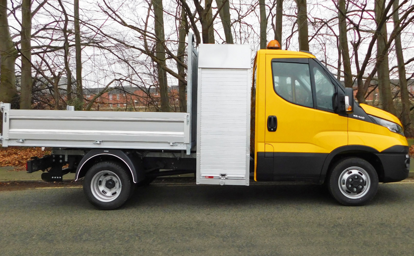 3.5t Tipper With Aluminium Locker
