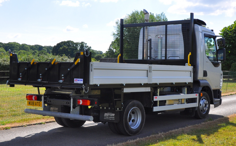 7.5 Tonne DAF LF Tipper With Extruded Aluminium Sides