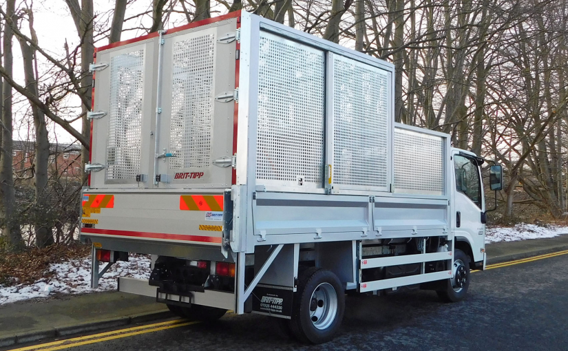 7.5t Steel Turret Punched Caged Tipper