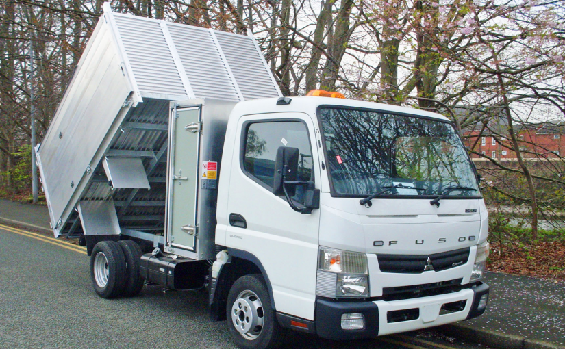 Fuso Canter Arboricultural Tipper