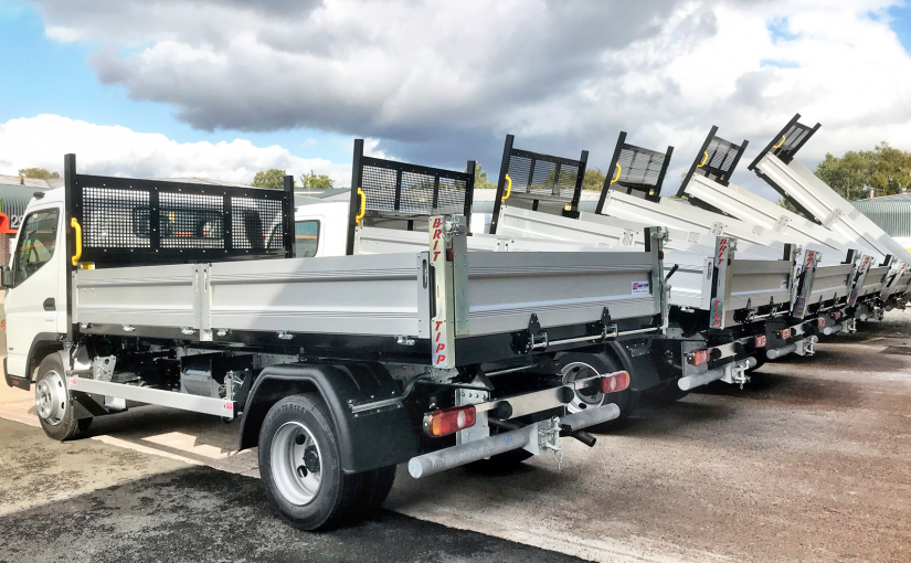 Fuso Canter Tippers