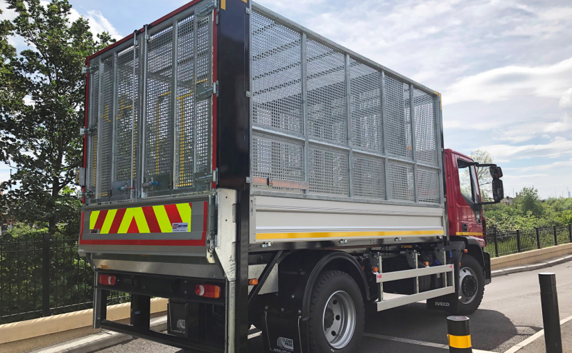 Iveco Eurocargo Caged Tipping Body