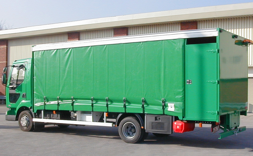 Kerbside Recycling Curtainsider