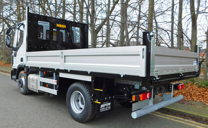 Steel Tipper With Extruded Aluminium Sides